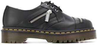 Dr. Martens Decorative Zip Detail Lace-Up Shoes