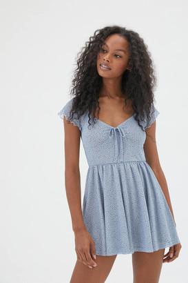 Urban Outfitters Alice Mesh Romper