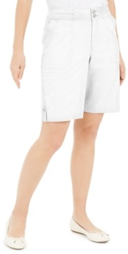 Karen Scott Petite 10-Inch Shorts, Created for Macy's