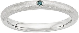 Simply Stacks Sterling Diamond Stackable Ring