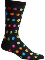 Ozone Men's Subway Route Symbols Socks (2 Pairs)