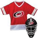 Franklin Sports Youth Franklin Carolina Hurricanes Goalie Face Mask & Jersey Set