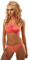 Aquarilla Luxury Swimwear Ladies two piece bikini set, push up, underwire built into bra