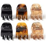 Riviera 6-pc. Mini Claw Hair Clip Set
