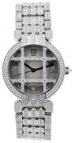 Harry Winston Premier 18k White Gold Grill All Diamond Watch