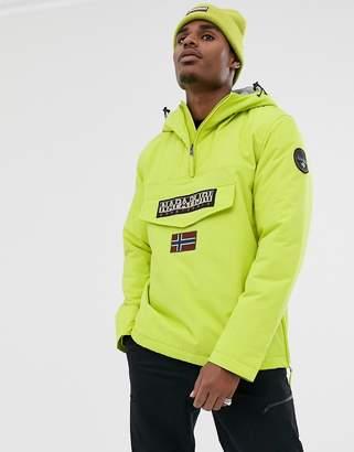 Napapijri Rainforest Winter 1 jacket in yellow lime