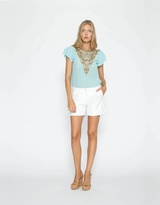 Coco Ribbon Ava Bejewelled Blouse