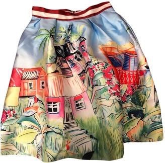 Lm Lulu Multicolour Skirt for Women