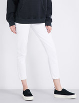 A Gold E Agolde Jamie classic-fit high-rise jeans