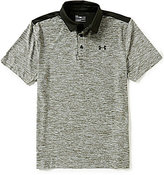 Under Armour Golf Playoff Horizontal-Stripe Novelty Polo Shirt