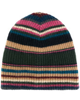 Roberto Collina striped rib knit beanie
