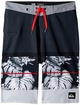 Quiksilver Slab Prints Vee Boardshorts Boy's Swimwear