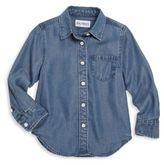 DL Premium Denim Toddler & Little Girl's Denim Shirt