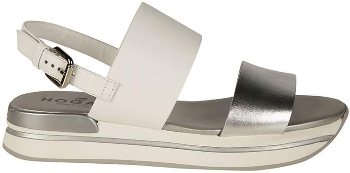 Hogan H257 Wedge Sandals