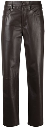 Drome Cropped Biker Trousers