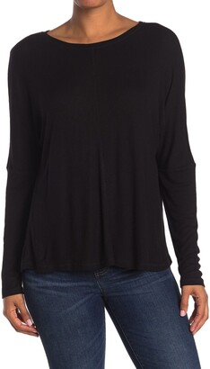 H By Bordeaux Seam Front Dolman Sleeve Sweater