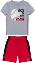 New Balance 2-pc. Short Set Baby Boys