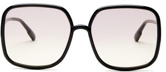 Christian Dior Diorsostellaire1 Acetate Sunglasses - Black