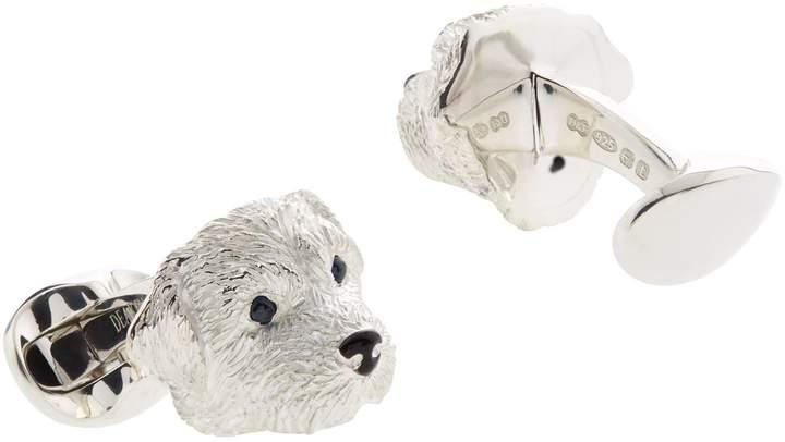 Deakin & Francis Terrier Head Cufflinks