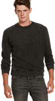 Denim & Supply Ralph Lauren Crew Raglan Sweatshirt, Polo Black