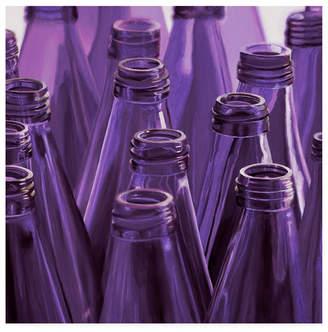 """Roderick Stevens Purple Ring Toss Canvas Art - 15.5"""" x 21"""""""