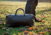 Fox Archer Real Leather Holdall Duffle Bag