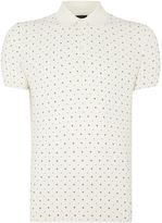 Peter Werth Men's Kenneth Pattern Slim Fit Polo Shirt