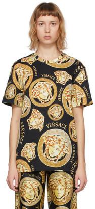 Versace Black Medusa Amplified T-Shirt