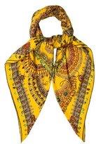 Hermes Parures Des Maharajas Cashmere Silk Shawl