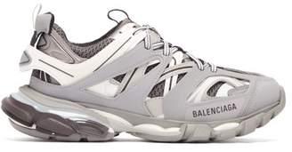 Balenciaga Track Low Top Trainers - Womens - Grey
