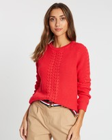 Tommy Hilfiger Valary Crew Neck Sweater