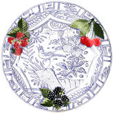 Gien Oiseau Dinner Plate - Blue/White