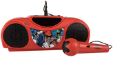 Power Rangers Red Radio Karaoke Set