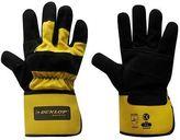 Dunlop Mens Rigger Deluxe Gloves Reinforced Elastic Workwear Hands Protection