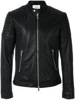 Dondup lamb skin biker jacket - men - Lamb Skin/Polyester - 48