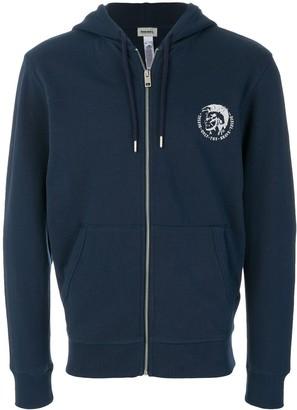 Diesel Only the Brave zip hoodie