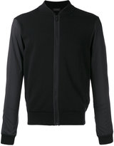Z Zegna zipped bomber jacket - men - Cotton/Polyamide/Polyester - S