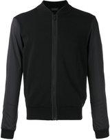 Z Zegna zipped bomber jacket