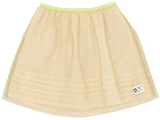 Stretch Tulle & Muslin Skirt