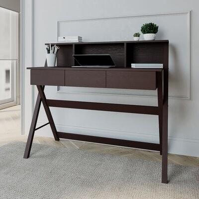 Charlton Home Marelle Wood Writing Desk Shopstyle