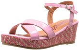 KensieGirl KG31171 Girls Tribal Wedge Sandals (Little Kid/Big Kid)