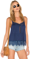 C&C California Ivy Lace Sweep Cami