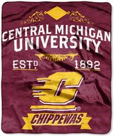 Bed Bath & Beyond University of Central Michigan Raschel Throw Blanket