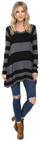 Brigitte Bailey Striped Swing Pullover