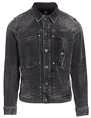 G Star Men's Faded Denim Jacket