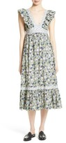 Rebecca Taylor Women's Suzette Floral Midi Dress