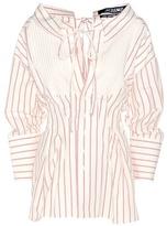 Jacquemus La Chemise Arlesie Cotton And Linen Shirt