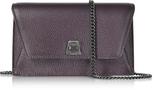 Akris Blackberry Cervocalf Anouk Mini Envelope Bag