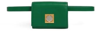 Bottega Veneta Leather Qulited Check Chain Bag
