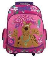 Scooby-Doo Peace & Love Large Rolling Backpack